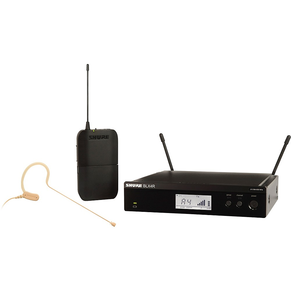 6. Shure BLX14R/MX53 Wireless Headworn Microphone System