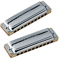 Seydel Set Of  7 Blues 1847 Classic Harmonicas And Softcase