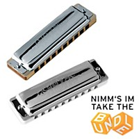 Seydel Set Of  9 Blues 1847 Classic Harmonicas And Softcase