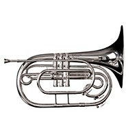 Adams Mf1 Series Marching Bb French Horn Mf1s Silver