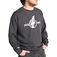 Ibanez Headstock Long Sleeve Shirt Gray Double Xl