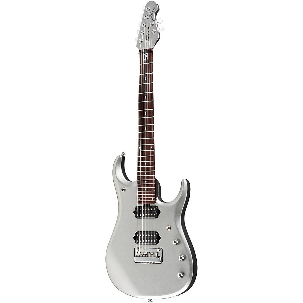 Ernie Ball Music Man JP13 John Petrucci 7-String Electric Guitar Platinum Silver 1363617291642