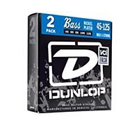 Dunlop Nickel Plated Steel Bass Strings Medium 5-String 2 Pack
