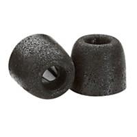 Comply Isolation T-400 Premium Earphone Tips (3 Pair) Black Medium
