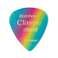 Pick Boy Vintage Pick Celluloid Rainbow (10-Pack) 1.0 Mm