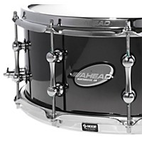 Ahead Black Chrome On Bell Brass Snare 14 X  ...
