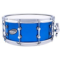 Ahead Brass Snare Chrome Blue 14 X 6  ...