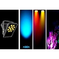 Chauvet Dj Slimpanel Tri-12 Ip Rated Oudoor/Indoor Tri Color Led Wash