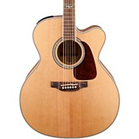 Takamine Gj72ce G Series Jumbo Cutaway Acoustic-Electric Guitar Natural Flame Maple