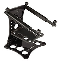 Ultimate Support Hyperstation Pro 2-Tier Laptop Stand Black