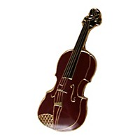 Aim Pin Violin Burgundy