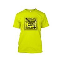Ernie Ball Regular Slinky T-Shirt Neon Yellow Extra Extra Large
