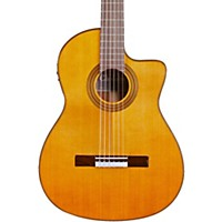 Cordoba Fusion 12 Natural Cedar Classical Electric Guitar Natural Cedar Top