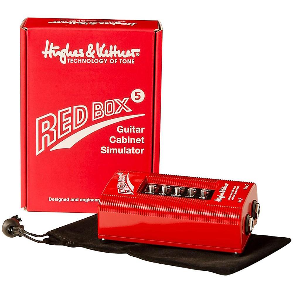 Hughes & Kettner Red Box 5 Classic Di And Amp Simulator (1372265650009 REDBOX5) photo