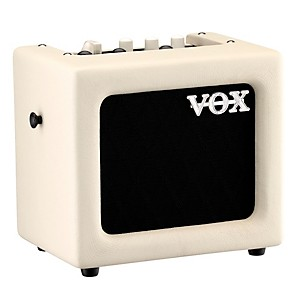 Vox 3W Battery-Powered Modeling Amp White Black Grill