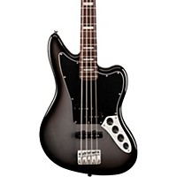 Squier Troy Sanders Signature Jaguar Bass Silver Burst