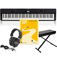 Casio Privia Px-350 Keyboard Package With 3  ...