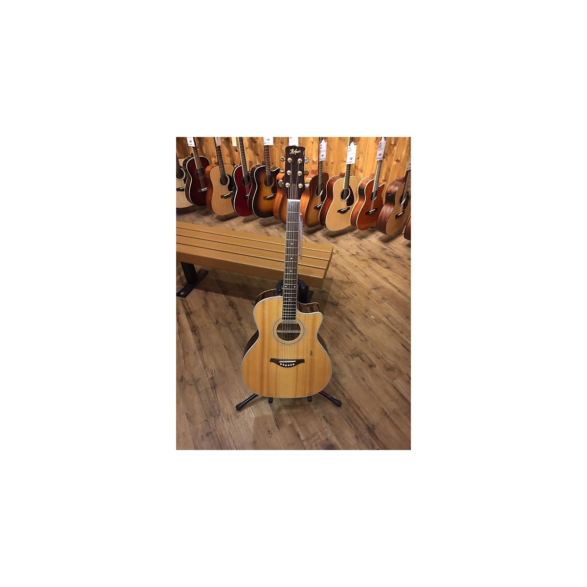 Hofner HA-GA07 Acoustic Electric Guitar
