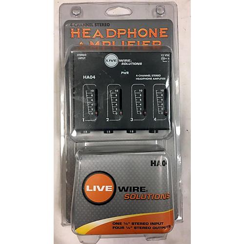 Livewire HA04 Line Mixer