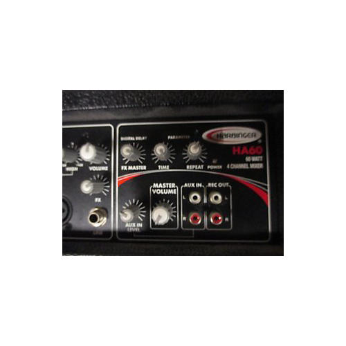 Harbinger HA60 Powered Mixer