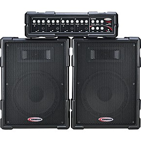 harbinger ha80 portable pa system guitar center. Black Bedroom Furniture Sets. Home Design Ideas