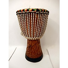 Overseas Connection HAND CARVED 10X18 Djembe