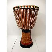 Overseas Connection HAND CARVED 13X24 Djembe