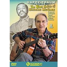 Homespun HAPPY TRAUM TEACHESTHE BLUES GUITAR OF BROWNIE MCGHEE (2 DVD SET)