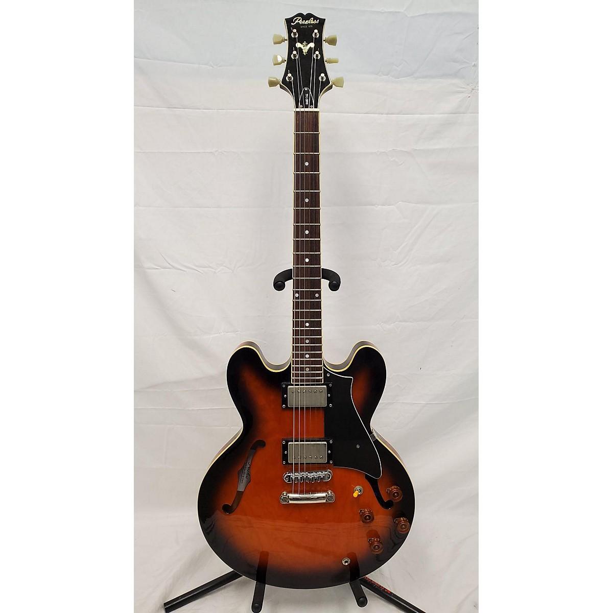 PEERLESS HARDTAIL Hollow Body Electric Guitar