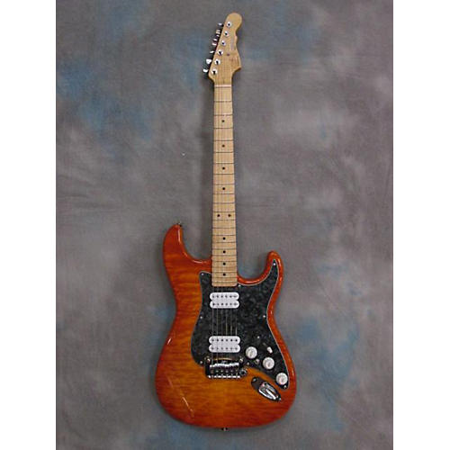 G&L HB-2 QUILT Solid Body Electric Guitar