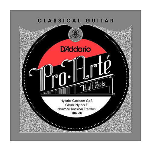 D'Addario HBN-3T Pro-Arte Normal Tension G/B Classical Guitar Strings Half Set