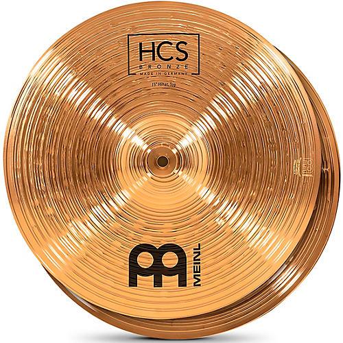 MEINL HCS Bronze Hi-Hat Cymbals