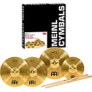 HCS Cymbal Pack with FREE Splash, Sticks, and Lessons