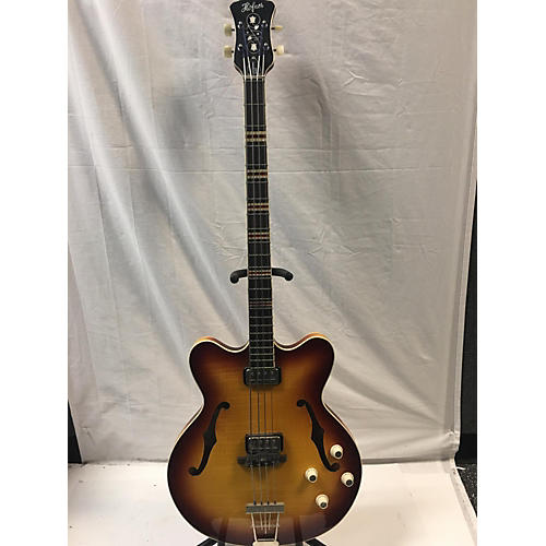 Hofner HCT-500/7-SB VERY THIN Electric Bass Guitar