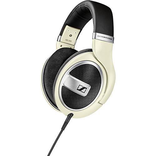 Sennheiser HD 599 Open-Back Headphones Matte Ivory