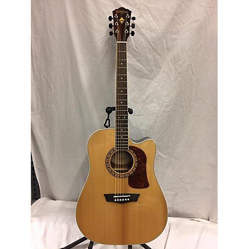 used washburn hd20sce acoustic electric guitar guitar center. Black Bedroom Furniture Sets. Home Design Ideas