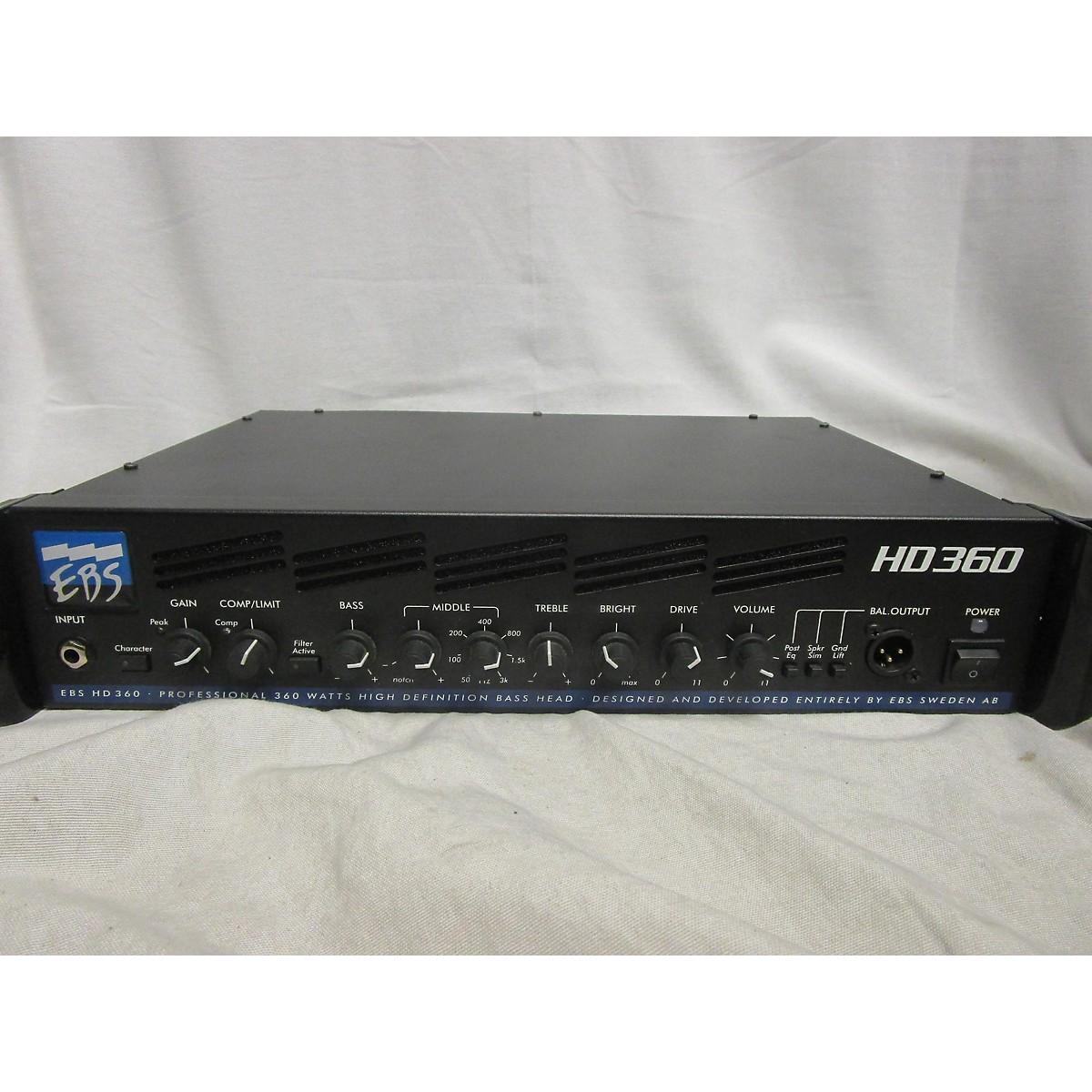 EBS HD360 360W Bass Amp Head