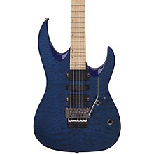 HD400 Hard Rock Double Cutaway Electric Guitar Level 2 Transparent Blue 190839424068