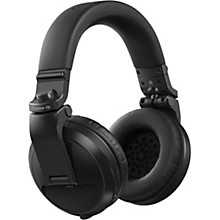 HDJ-X5BT Over-Ear DJ Headphones with Bluetooth Black