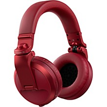 HDJ-X5BT Over-Ear DJ Headphones with Bluetooth Red