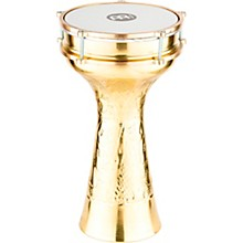 HE-215 Brass-Plated and Hand-Hammered Copper Darbuka