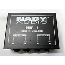 Nady HE1 Hum Eliminator Effect Pedal
