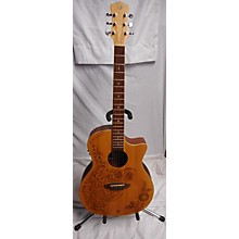 Luna Guitars HEN 02 SPR Acoustic Guitar