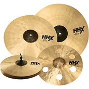 HHX Complex Cymbal Set With Free 17