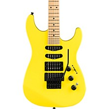 HM Stratocaster Maple Fingerboard Limited Edition Electric Guitar Frozen Yellow