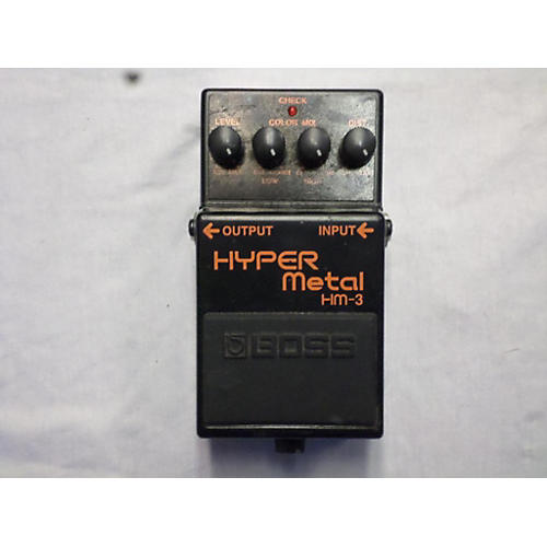 Boss HM3 Hyper Metal Effect Pedal