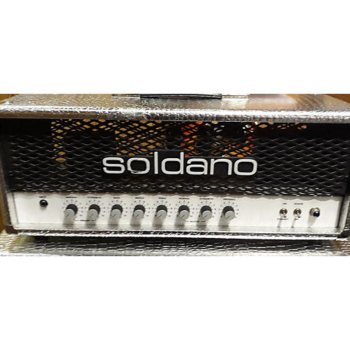used soldano hot rod 50 head and cab tube guitar combo amp chrome alligator guitar center. Black Bedroom Furniture Sets. Home Design Ideas