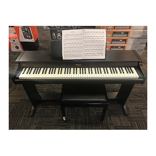 used roland hp 126 digital piano guitar center. Black Bedroom Furniture Sets. Home Design Ideas