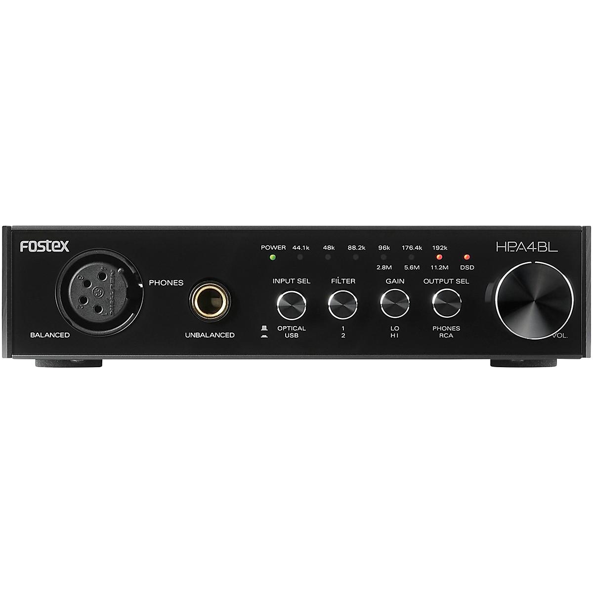 Fostex HP-A4BL DAC and Headphone Amp