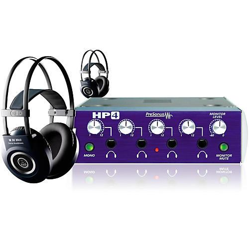 PreSonus HP4 AKG M90 2 Headphone Package